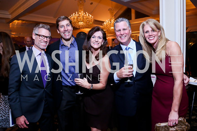 David Kay, John Galiani, Ruthie and Joe Robinson, Nancy Galiani. Photo by Tony Powell. 2013 Wings of Hope Gala. Trump National Golf Club. November 9, 2013