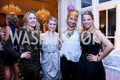 Lizzy Conroy, Courtney Jane Rosellini, Nicole Backus, Mary Hoerning. Photo by Tony Powell. 2013 Wings of Hope Gala. Trump National Golf Club. November 9, 2013