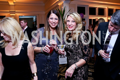 Melanie Love, Michelle Donnelly. Photo by Tony Powell. 2013 Wings of Hope Gala. Trump National Golf Club. November 9, 2013
