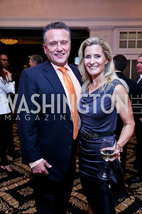 Chad and Natalie MacDonald. Photo by Tony Powell. 2013 Wings of Hope Gala. Trump National Golf Club. November 9, 2013