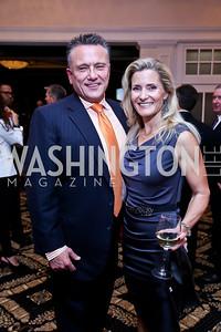 Chad and Natalie MacDonald. Photo by Tony Powell. 2013 Wings of Hope Gala. Trump National Golf Club. November 9, 2013