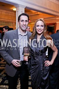 Drs. Michael and Jennifer DeSimone. Photo by Tony Powell. 2013 Wings of Hope Gala. Trump National Golf Club. November 9, 2013