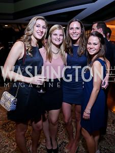 Rachel Darby, Lauren Antilety, Quinn Wilkinson, Charlotte Nagey. Photo by Tony Powell. 2013 Wings of Hope Gala. Trump National Golf Club. November 9, 2013