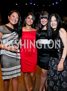 Kristen Chou, Pegah Kazemifar, Jessica Hersh, Elaine Charurat. Photo by Tony Powell. 2013 Wolf Trap Ball. September 21, 2013