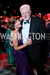 Deborah Warren, Rep. Jim Moran. Photo by Tony Powell. 2013 Wolf Trap Ball. September 21, 2013