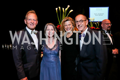 Tedd Davis, Ginny Friend, Liv Violete, Brad Sterl. Photo by Tony Powell. 2013 Wolf Trap Ball. September 21, 2013
