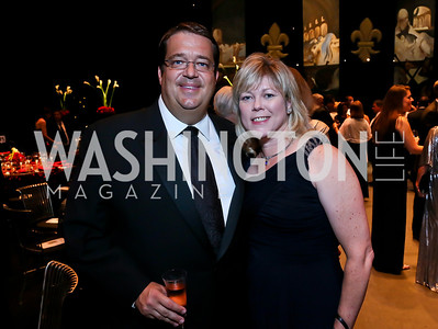 George Swygert, Laurie Jenkins. Photo by Tony Powell. 2013 Wolf Trap Ball. September 21, 2013