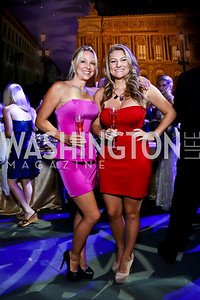 Plumbers Shary Moxley and Raychel Johnikin. Photo by Tony Powell. 2013 Wolf Trap Ball. September 21, 2013