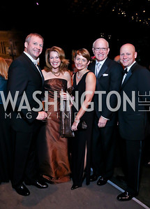 Chris and Teresa Carlson, Sarah and Don Upson, Steven Stombres. Photo by Tony Powell. 2013 Wolf Trap Ball. September 21, 2013