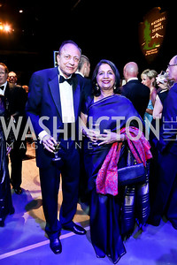 Ranvir Trehan and Indian Amb. Nirupama Rao. Photo by Tony Powell. 2013 Wolf Trap Ball. September 21, 2013
