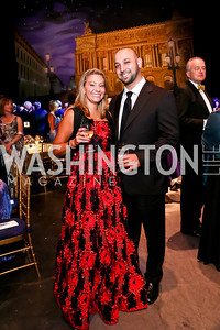 Beth Danielo, Alan Omar. Photo by Tony Powell. 2013 Wolf Trap Ball. September 21, 2013