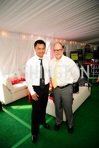 Indonesian Amb.Dino Djalal,Jimmie Williams,,July 18,2013,2nd Annual Washington Kastles Charity Classic,Kyle Samperton