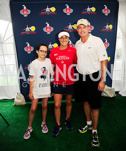 Gabrille Russo, Martina HingisTony Russo,July 18,2013,2nd Annual Washington Kastles Charity Classic,Kyle Samperton