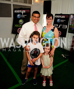 Dave Marventano,Isabella Marventano,Jessica Marventano,Catherine Marventano,July 18,2013,2nd Annual Washington Kastles Charity Classic,Kyle  Samperton