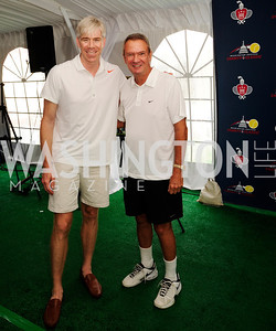 David Gregory,John Breaux,July 18,2013,2nd Annual Washington Kastles Charity Classic,Kyle  Samperton