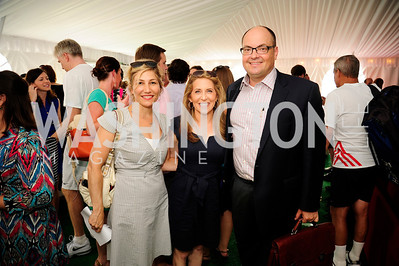 Debbie Fine,Jessica Yelin,Erick Mullin,July 18,2013,2nd Annual Washington Kastles Charity Classic,Kyle Samperton