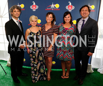 Ali Amirhooshmand,Lillian Dunn,Diana Lawson,Danielle Rodman,Erik Huey,July 18,2013,2nd Annual Washington Kastles Charity Classic,Kyle Samperton