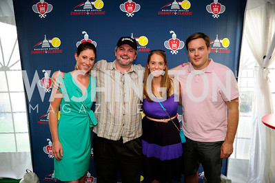 Maggie Nichols,Don Pitz,Stacy England,J.D.Grom,,July 18,2013,2nd Annual Washington Kastles Charity Classic,Kyle Samperton