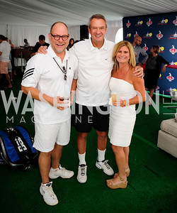 Jimmie Williams, John Breaux,Melissa Maxfield,,July 18,2013,2nd Annual Washington Kastles Charity Classic,Kyle Samperton
