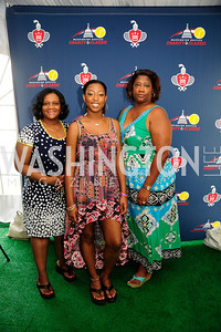 Yosia Farrington,Kristina Lyles,Kimberly Lyles,July 18,2013,2nd Annual Washington Kastles Charity Classic,Kyle Samperton