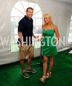 Lang Campbell,Lauren Rickets,July 18,2013,2nd Annual Washington Kastles Charity Classic,Kyle Samperton