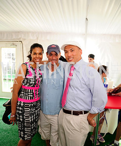 Marie Sylla -Dixon,Lane Luskey,John Tinpe,July 18,2013,2nd Annual Washington Kastles Charity Classic,Kyle Samperton