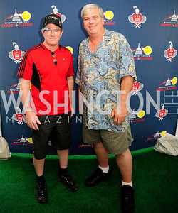 Jim Young ,Steve Potell,,July 18,2013,2nd Annual Washington Kastles Charity Classic,Kyle  Samperton