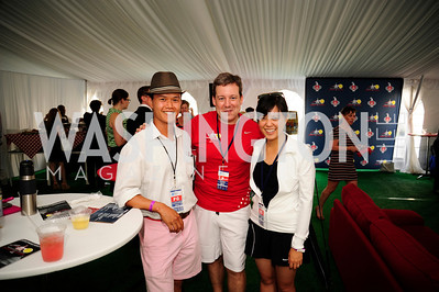 Trevor Chan,Ed Henry,Joy Lin,July 18,2013,2nd Annual Washington Kastles Charity Classic,Kyle Samperton