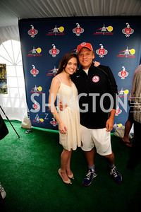 Sally Stiebel,Mark Ein,July 18,2013,2nd Annual Washington Kastles Charity Classic,Kyle Samperton