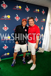 Mark Ein,Ed Henry,July 18,2013,2nd Annual Washington Kastles Charity Classic,Kyle Samperton