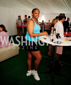 Cynthia Phillips,July 18,2013,2nd Annual Washington Kastles Charity Classic,Kyle  Samperton