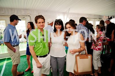 Matt Lauer,Sheila Branam,Samantha Sault,July 18,2013,2nd Annual Washington Kastles Charity Classic,Kyle  Samperton