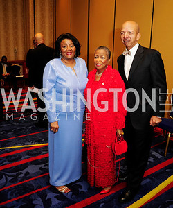 Linda Cropp, Maudine Cooper,Anthony Williams,March 13,2013,41st  Annual Whitney M. Young Jr,Memorial Gala Diamond Jubilee,Kyle Samperton