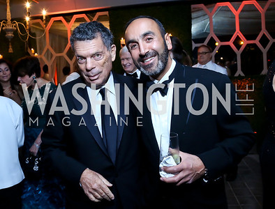 Conrad Cafritz, Hossein Fateh. Photo by Tony Powell. 45th Annual Meridian Ball UAE Dinner. October 18, 2013