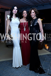 Amy Baier, Abeer Al-Otaiba, Beth Dozoretz. Photo by Tony Powell. 45th Annual Meridian Ball UAE Dinner. October 18, 2013