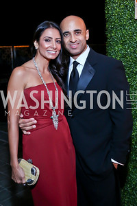 Abeer Al-Otaiba and UAE Amb. Yousef Al-Otaiba. Photo by Tony Powell. 45th Annual Meridian Ball UAE Dinner. October 18, 2013