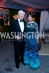 Fred and Marlene Malek. Photo by Tony Powell. 45th Annual Meridian Ball UAE Dinner. October 18, 2013