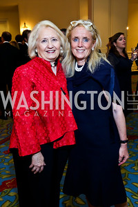 Melanne Verveer, Debbie Dingell. Photo by Tony Powell. 4th Annual Climate Leadership Gala. Mayflower Hotel. May 22, 2013