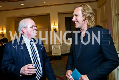 Scott Webb, John Corbett. Photo by Tony Powell. 4th Annual Climate Leadership Gala. Mayflower Hotel. May 22, 2013