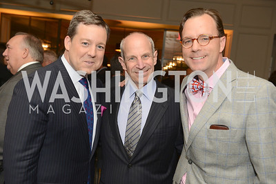 Ed Henry, Jonathan Tisch, Aaron Lewis, 50th Anniversary of Loews Madison Hotel.  Washington Life Exclusive.  Wednesday April 30, 2013.  Photo by Ben Droz.