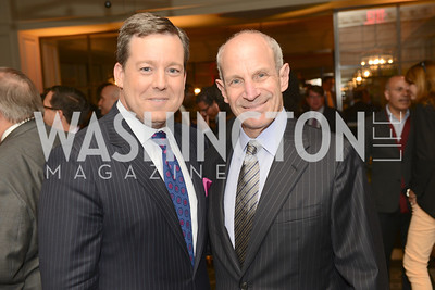 Ed Henry, Jonathan Tisch, 50th Anniversary of Loews Madison Hotel.  Washington Life Exclusive.  Wednesday April 30, 2013.  Photo by Ben Droz.