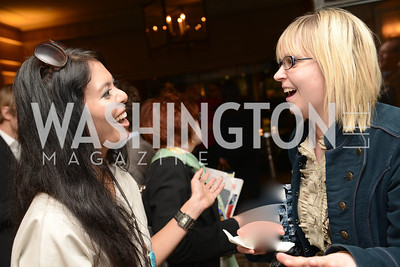 Christina Sevilla, Nikki Schwab, 50th Anniversary of Loews Madison Hotel.  Washington Life Exclusive.  Wednesday April 30, 2013.  Photo by Ben Droz.
