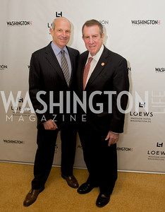 Jonathan Tisch, Andrew Tisch, 50th Anniversary of Loews Madison Hotel.  Washington Life Exclusive.  Wednesday April 30, 2013.  Photo by Ben Droz.