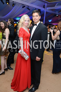 Hilke Eyler, Conrad Jakubow, 5th Anniversary Ball on the Mall. Saturday, May 4, 2013.  Photo by Ben Droz.