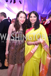 Eryn Schultz, Aastha Mehta, 5th Anniversary Ball on the Mall. Saturday, May 4, 2013.  Photo by Ben Droz.