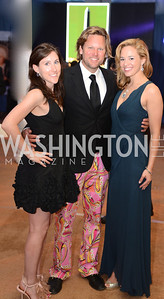 Cameron Kilby, Rich Amons, Jules Weiss,  5th Anniversary Ball on the Mall. Saturday, May 4, 2013.  Photo by Ben Droz.