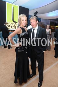 Sarah Valerio, Dan Batson, 5th Anniversary Ball on the Mall. Saturday, May 4, 2013.  Photo by Ben Droz.