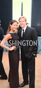 Christina Sawicky Mazurkevich, Dorian Mazurkevich, 5th Anniversary Ball on the Mall. Saturday, May 4, 2013.  Photo by Ben Droz.