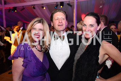 Allison Priebe Brooks, Ryan Forsythe, Taryn Fielder, 5th Anniversary Ball on the Mall. Saturday, May 4, 2013.  Photo by Ben Droz.