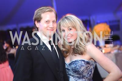 Ryan Pillsbury, Laura Pillsbury, 5th Anniversary Ball on the Mall. Saturday, May 4, 2013.  Photo by Ben Droz.